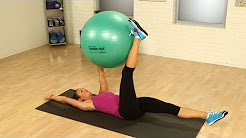 Stability Ball Workout For Your Abs | Strength Training | Fit How To