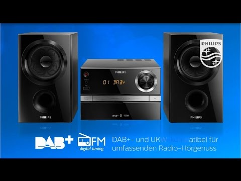 Philips Mini Stereoanlagen-Range BTB1370, BTB2370 & BTB3370  | Philips Sound
