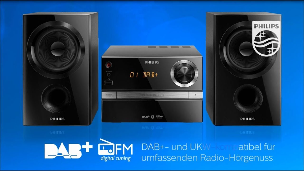 Philips Mini Stereoanlagen