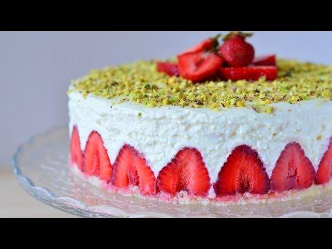 Торт Фрезье / Fraisier Cake
