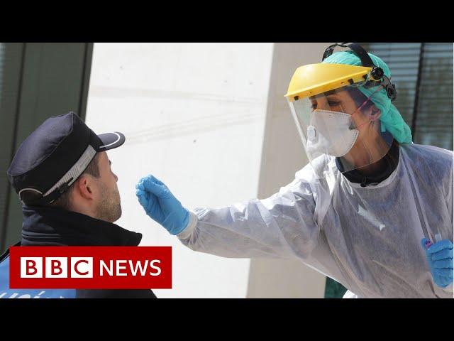 Coronavirus: A quarter of the world's population in lockdown - BBC News