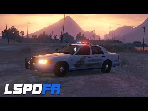 LSPDFR: 13-XRAY-13 #10 Blaine (San Bernardino) County Sheriff Patrol!