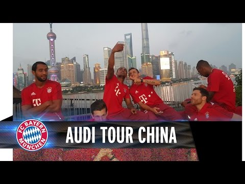 Highlights Audi FCB Tour China