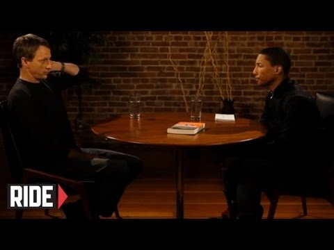 Pharrell Williams Interviews Tony Hawk Preview