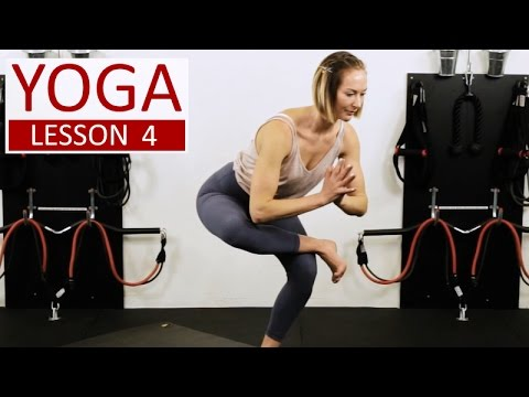 YOGA Lesson 4 | By Vicky Chapman