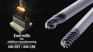 EXOCARB® AM-EBT Carbide End Mills Designed for Additive Manufacturing