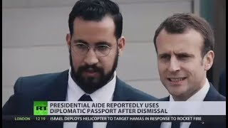 Former Macron adviser used diplomatic passport after dismissal - reports