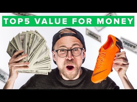 Top Best Value For Money Football Boots