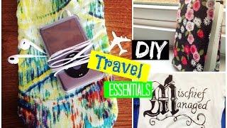 ✈️ ✈️ DIY Travel Essentials + Tips || Spirited Gal