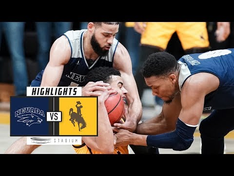 No. 7 Nevada vs. Wyoming Basketball Highlights (2018-19) | S