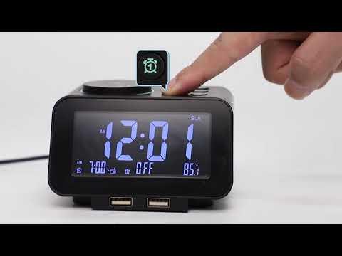 USCCE Digital Alarm Clock Raido