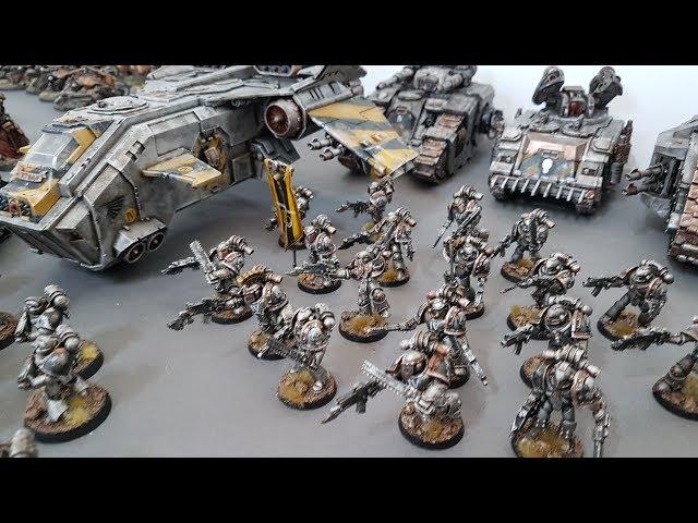 Horus Heresy batrep; Mechanicum vs World Eaters and Iron Warriors