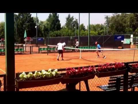 Карацев Аслан теннис интересные моменты тренировок