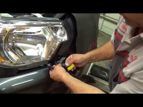 2012-2015 Toyota Tacoma – LED Daytime Running Light Kit Preview