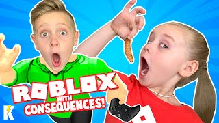 Gaming with Consequences: ROBLOX Challenge Edition! KIDCITY