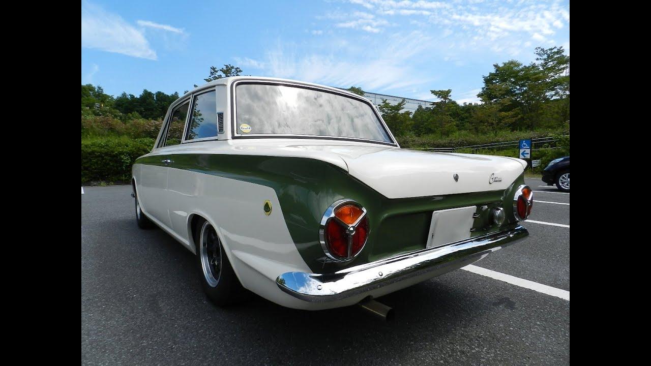 Ford Cortina Lotus Mk1 Sr2 1964 Running Youtube