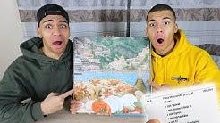 DIE TEUERSTE PIZZA DER WELT !!! (40+ BELÄGE)   Kelvin und Marvin