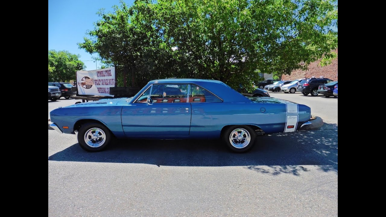 1969 Dodge Dart Swinger Hardtop 4-sd - $39,500 - YouTube
