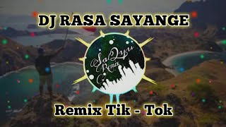 DJ RASA SAYANGE REMIX TIK-TOK | DARI MANA DATANGNYA LINTAH REMIX FULLBASS 2019