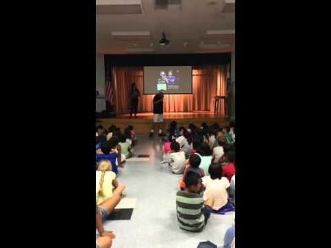 Harper for Kids Assembly with Coach Dave Borelli at Soleado Elementary School