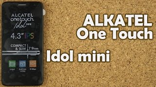 распаковка Alcatel One Touch Idol Mini 6012X
