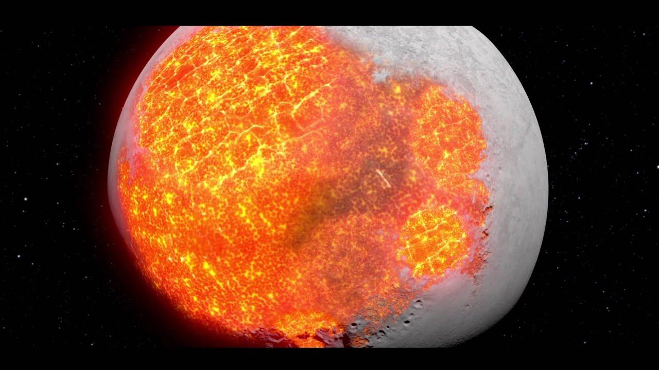 Nasa Evolution Of The Moon