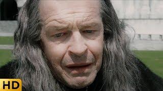Наместник впадает в отчаяние из-за смерти Фарамира. Властелин колец: Возвращение короля.