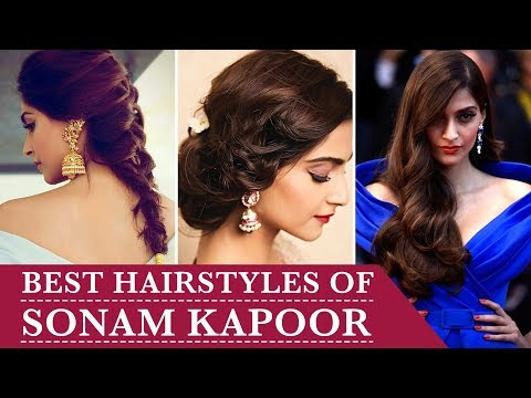 Best Hairstyles of Sonam Kapoor | Curly Hairstyles | Hairstyle for Long hair | Pinkvilla