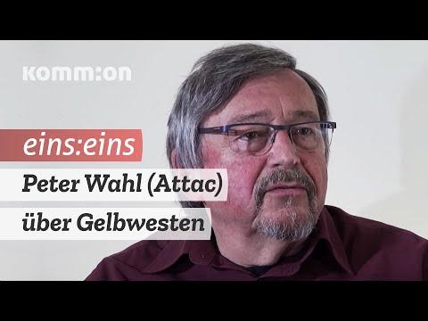 Eins:Eins Die Geschichte der Gelbwesten mit Peter Wahl (Attac)