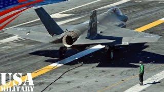 F-35C ライトニングII (艦載型)・初の空母着艦テスト その2