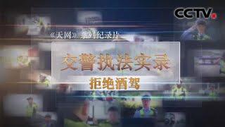《天网》 交警执法实录 拒绝酒驾 | CCTV社会与法