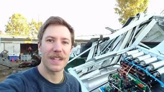 Eaton PowerWare 20kVA UPS (early morning junk yard) teardown