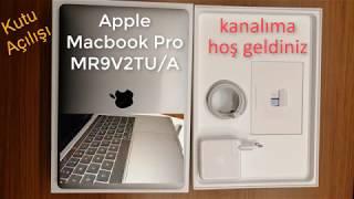 Apple Macbook Pro MR9R2TU/A Kutu Açılışı
