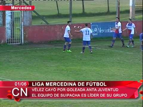 Liga Mercedina   Velez cayo por goleada ante Juventud   El equipo de Suipacha lidera el Grupo
