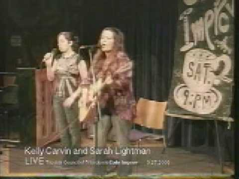 Kelly Carvin (with Sarah Lightman) on Cafe Improv
