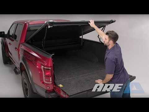 A R E Doublecover The Only Hard Truck Bed Cover That Retracts And Lifts Because Double Is Better Youtube