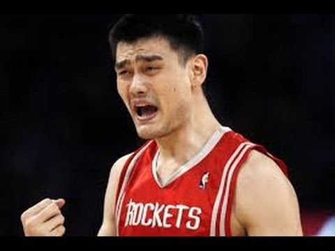 Yao Ming's Top 10 Plays of his Career - YouTube