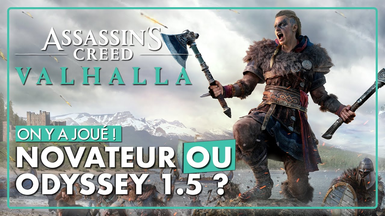 On y a joué ! ASSASSIN'S CREED VALHALLA : LA PREVIEW ULTIME ! 🔥 (Gameplay, Combats, Infiltration...