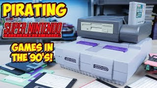 Pirating Super Nintendo Games In The 90