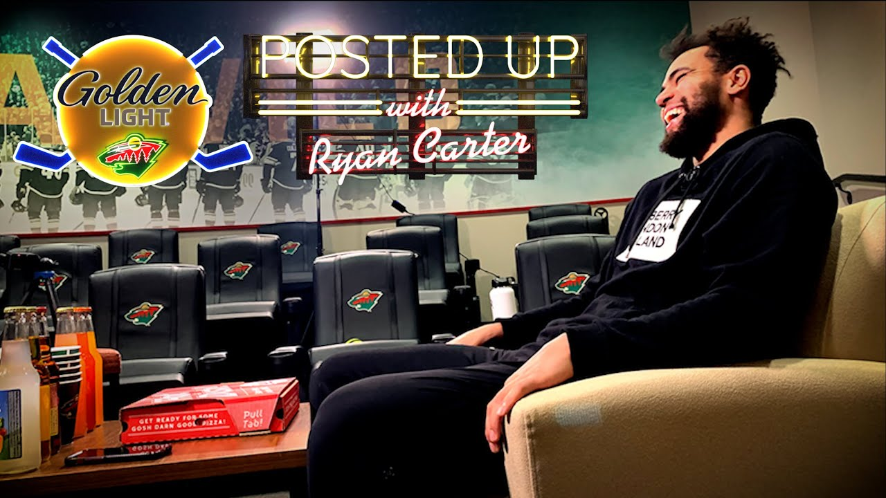 Posted Up with Ryan Carter--Me skating, confidence, hockey player vs. boxer