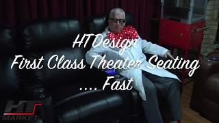 HTmarket.com HT Design Home Theater Seating Showroom Tour