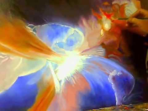 dipingere a olio astratto su tela 1 parte youtube