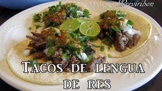 Tacos De Lengua De Res *video 172*