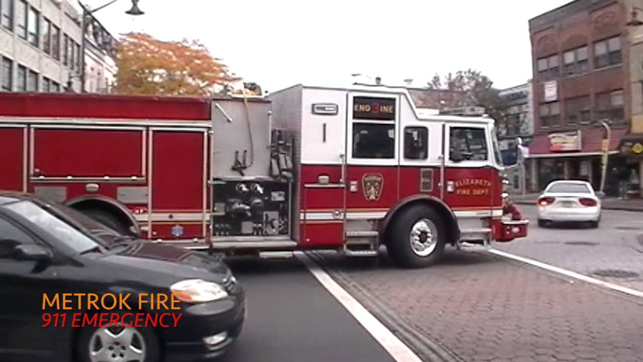 Elizabeth Nj Fire Departments Fire Emergency Rigs Units
