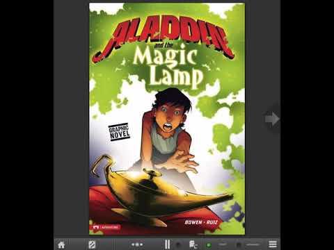 Learn English thru story books:Aladdin and the Magic Lamp