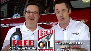 Chesrown Chevrolet Buick GMC Lifetime Oil Changes!