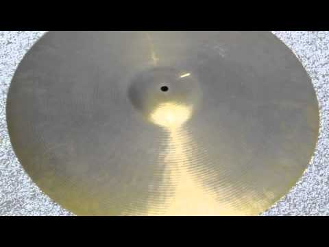 "20"" PAISTE FORMULA 602 - 1968 Grams (at STEBAL DRUMS)"