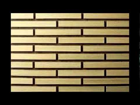 Wall tiles youtube for Exterior wall tiles design india