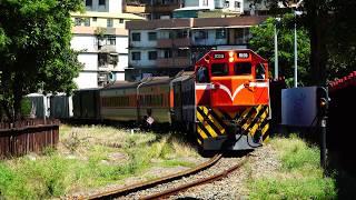 2018.05.31 貨物列車7221次通過憲政路平交道前