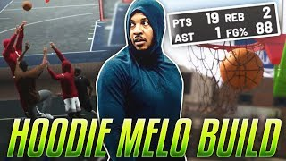HOODIE MELO ACTIVATED! DOMINATING THE PARK W/ HOODIE KAY! NBA 2K19 MyPark